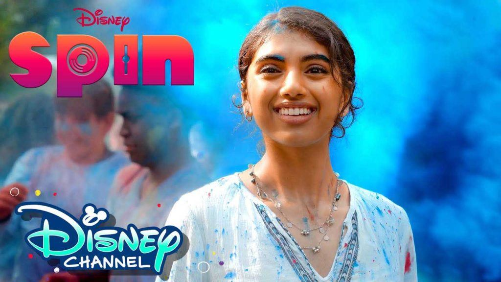 spin disney channel movie poster